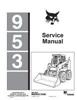 New Bobcat 953 Skid Steer Loader 1995 Edition Repair Service Manual 6724352