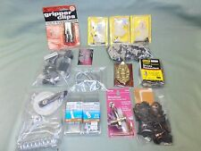 Lot of 4 Pounds of Handyman Hardware, New Packs, Variety of Items