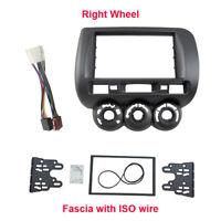 Car Radio Fascia Harness for Honda Jazz Fit 2002-2008 facia plate panel dash kit