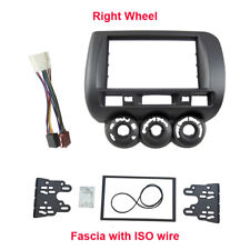 Car Radio Fascia Harness for Honda Jazz Fit 2002-2008 facia plate panel dash kit