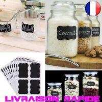 40 pcs Étanche Bouteille Autocollants Étiquettes Maison Cuisine Pots Tableau