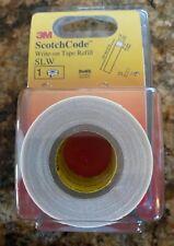 """New listing 3Mâ""""¢ ScotchCodeâ""""¢ Refill Roll Slw-R, 1 in x 5 in"""