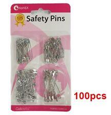 KoNEK SAFETY PIN 100PCS ASSORTED SIZE PINS #GSPM125