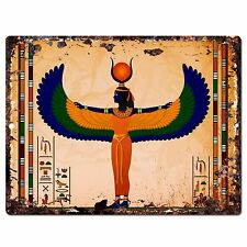 PP0791 Isis goddess Chic Plate Sign Home Store Shop Restaurant Cafe Decor Gift