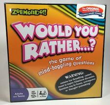 Would You Rather...? Board Game Classic New Sealed Party Ice Breaker