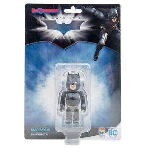 DC BATMAN THE DARK KNIGHT VERSION 100% BEARBRICK FIGURE MEDICOM  NEW SEALED