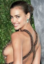 BEAUTIFUL SEXY IRINA SHAYK SEXY SOFT CLOSE UP 8X10 GLOSSY AB