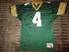 Brett Favre #4 Green Bay Packers Wilson NFL Jersey LG 46 Rookie
