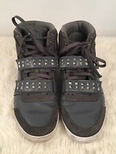 Reebok Mens Size 10 Dibello Mid Studded Shoes Gray