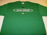 University of Notre Dame Fighting Irish Indiana - Green Adidas T-Shirt New! XL