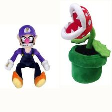 Super Mario Bros Waluigi And Piranha Plant Plush Doll 2pcs