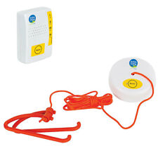 WIRELESS MAGNETIC PULL ALARM SYSTEM CORD FOR DISABLED BATHROOM TOILET EMERGENCY