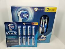 Braun Oral-B Professional Care 2000 Rechargeable 2 Toothbrush System W/ Heads!