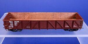 HO Scale MONON Gondola Car w/ Simulated Wood Interior & Metal Details 30086