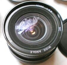 Vivitar 19mm f/3.8 Canon FD Mount Wide Angle Lens AE-1 Program A-1 T70 T50
