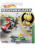Koopa Troopa Nintendo Mario Kart Hot Wheels 1:64 Diecast Toy Car - Brand New