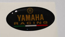 1 Adesivo Diapason yamaha  3D resinato NERO ORO Tmax Xmax R1 R6 MT Racing R125