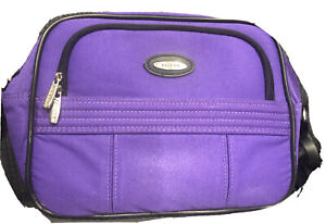 Jaguar Overnight / Carry On / Over the shoulder Bag, Purple (12in x 9in x 7in)