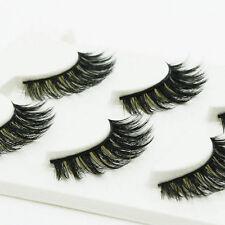 100% Handmade Real Mink Luxurious Natural Thick Soft Lashes False Eyelashes