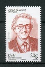 Saint-Pierre & Miquelon Sp&M 2017 Mnh Pere J.-M. Tillard 1v Set Stamps