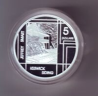 2006 SILVER Proof $5 Jeffery Smart Keswick Siding Artist Art ex Masterpieces