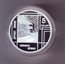 2006 SILVER Proof $5 Jeffery Smart Keswick Siding Artist Art ex Masterpieces