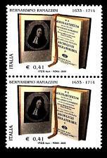 ITALIA REP. - 2003 - Bernardino Ramazzini 0,41€ de morbis artificum diatriba Cop
