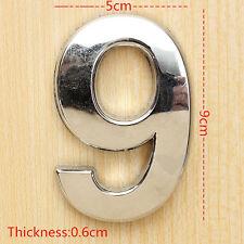 LC_ HK- 0-9 lustré MAISON PLAQUE PORTE ADRESSE arabe numéro chiffre assiette