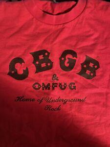 Vintage CBGB club shirt small