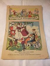 Rarität selten sehr alte Kinderzeitschrift Deutsche Kinderwelt Heft 5 Mai 1943