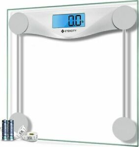 Etekcity Digital Body Weight Bathroom Scale with Body Tape Measure, 400 Pounds..