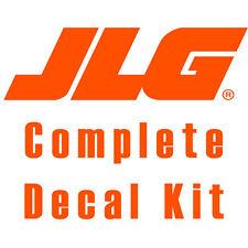 JLG 1932E2 Scissor Lift Decal Kit