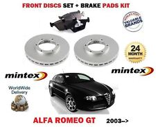 POUR ALFA ROMEO GT 1.8 1.9 2.0 03 > AVANT MINTEX DISQUE DE FREIN