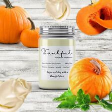 Thankful Soy Wax Candle (Pumpkin+Buttercream)
