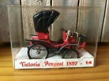Minialuxe N°14 Victoria Peugeot 1892 Scale 1/43 Made In France