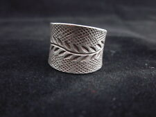 Hill Tribe Fine Sterling Silver Ring Olive Leaf Lucky Success Winner Styles