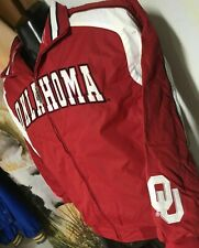 NWT $60 Colosseum OU SOONERS fleece-lined Zip JACKET Youth Boys L 16-18 Sewn-On