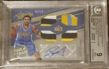 2016-17 Absolute Jamal Murray RC Tools of the Trade Prime Quad Patch BGS 9 #1/10
