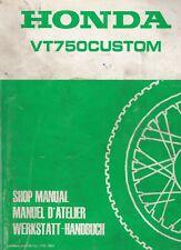 Honda VT750 Custom 1983 Extended Shop Manual