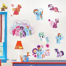 Kindergarten,Children Bedroom Wall Stickers MY LITTLE PONY Figure Stickers 60*45