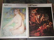 Jan.  1969 and May 1969 ART NEWS  Magazines;