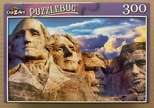 MT. RUSHMORE NATIONAL MEMORIAL JIGSAW PUZZLE, 300 PIECES, PUZZLEBUG NEW