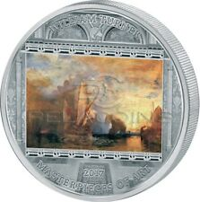 Cook Islands 2017 20$ Masterpieces of Art - William Turner Ulysses 3oz