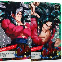 Carte dragon ball GT Fancard Prism Super Battle RA2-3 Reverse Custom fan Card