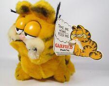 "Vintage 1981 Dakin Garfield Plush Animal Original 10"" Stuffed Cat NWT"