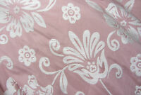 Pink/White Floral Chenille Prestigious Textiles Curtain/Upholstery/Craft Fabric