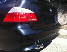 EMBOUTS CHROME SORTIE ECHAPPEMENTS TUYAUX pour BMW E60 E61 SERIE 5 03-10 71mm M
