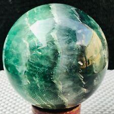 1113G Natural fluorite sphere quartz crystal ball E656