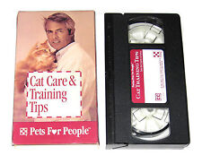 VHS Tape: Pets For People: Cat Care and Training Tips From the Experts at Purina