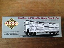 Lifelike HO Proto 2000 Mather Double Deck Stock Car NORTHERN PACIFIC 60094